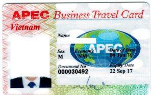 Dịch vụ làm thẻ Apec trọn gói